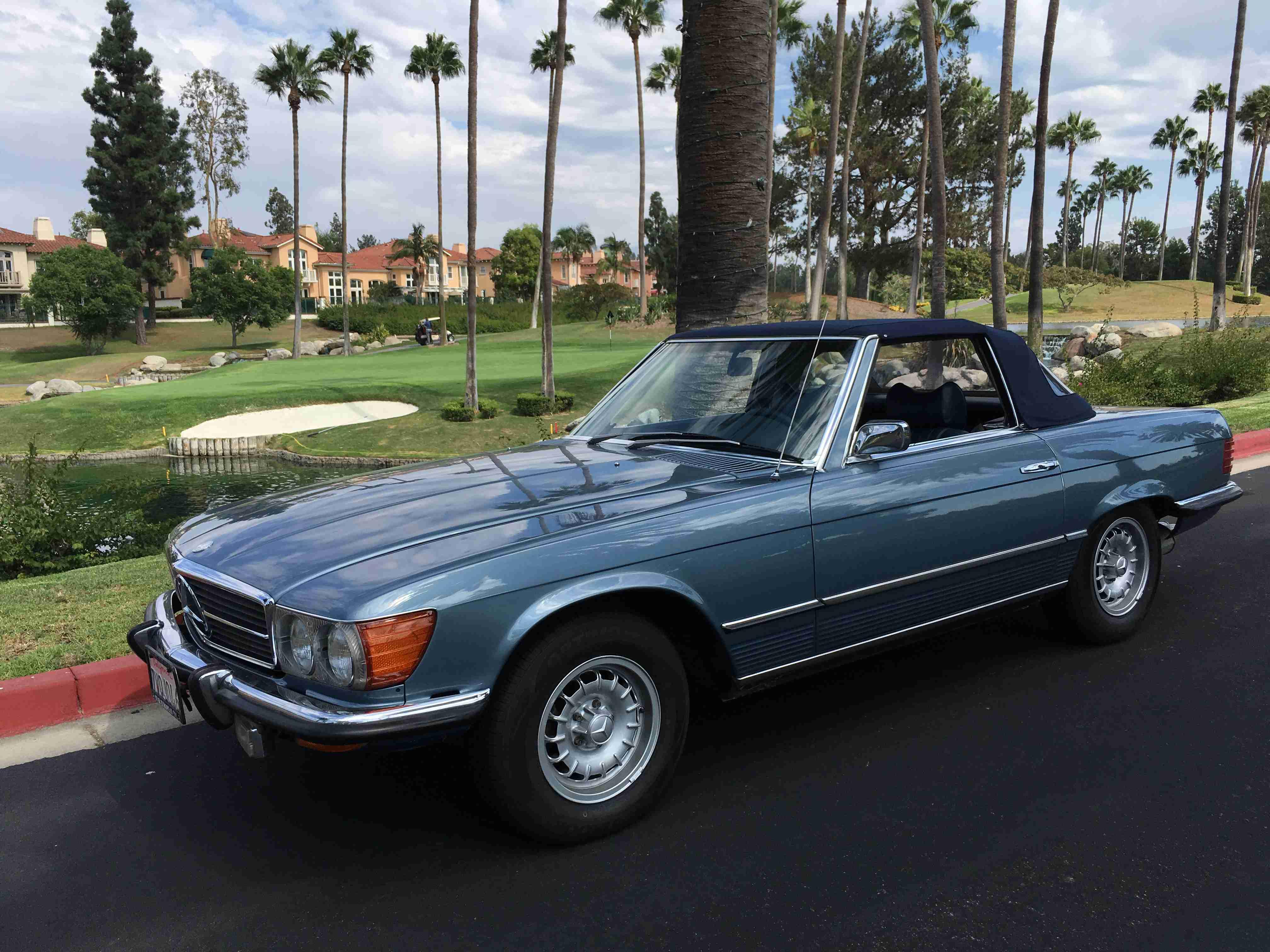 1973 Mercedes 450SL - € RESERVIERT US RESERVED
