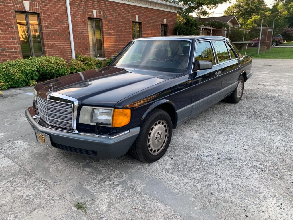 1987 Mercedes 300 SDL TurboDiesel ex Rotterdam € 12.350.-