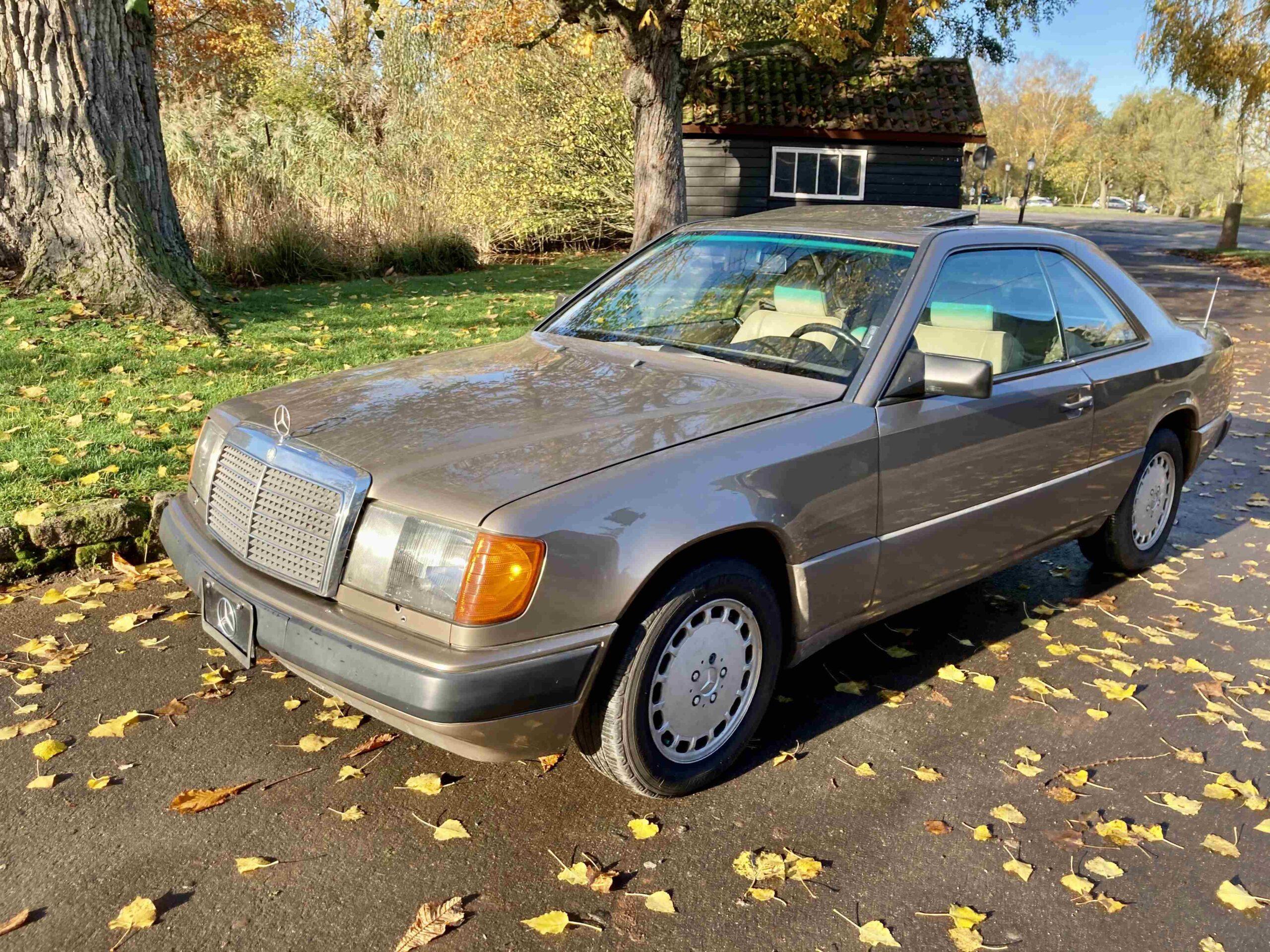 1989 Mercedes 300 CE H-Kennzeichen+TÜV NEU ex Frankfurt € 9.990.-