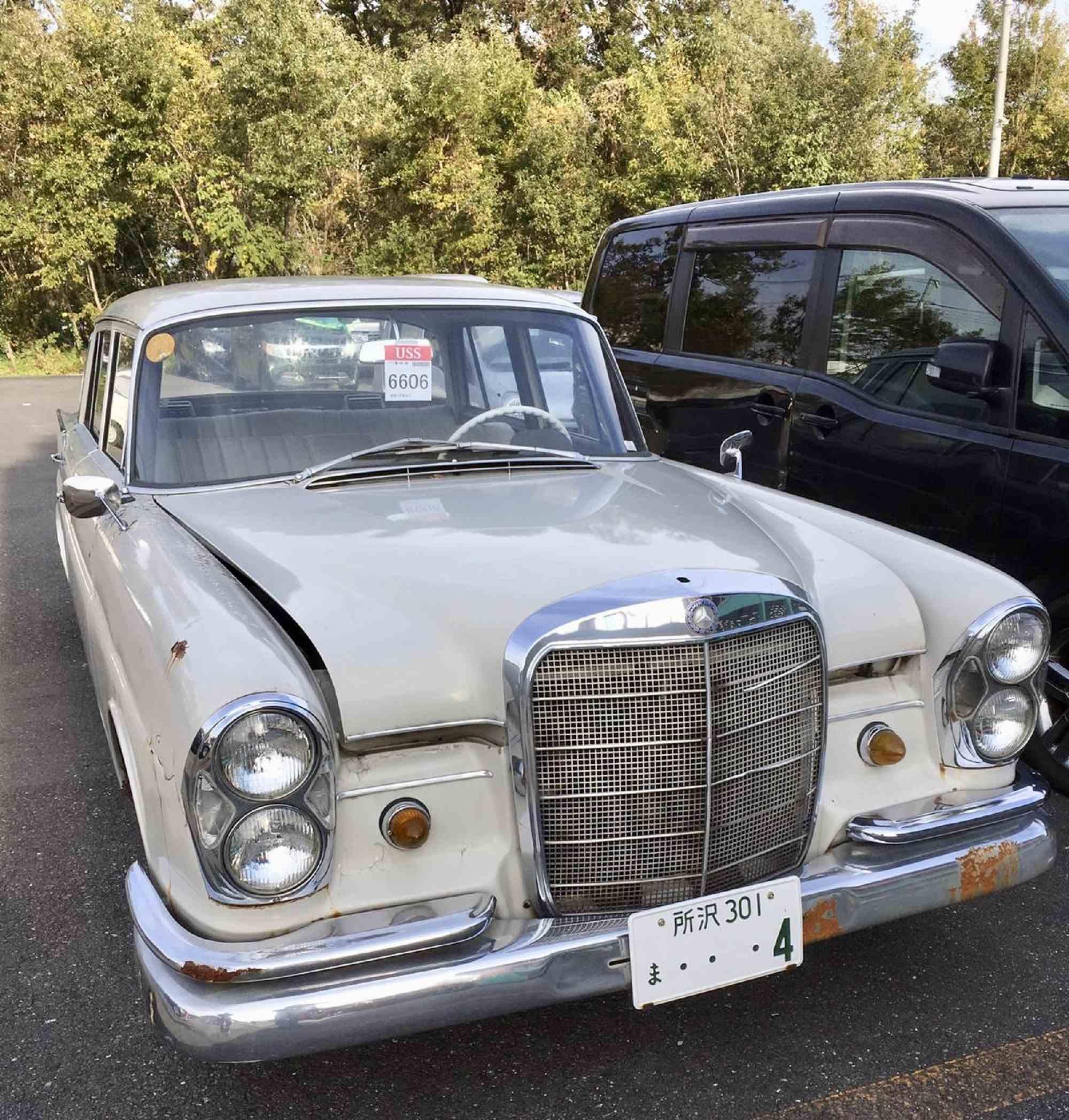 1966 Mercedes 230S ex Rotterdam € 9.990.-  US$ 12.990.-