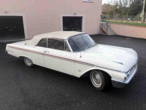 1962 Ford Galaxie 500XL SUNLINER Cabrio ex Deutschland - €26.999.-