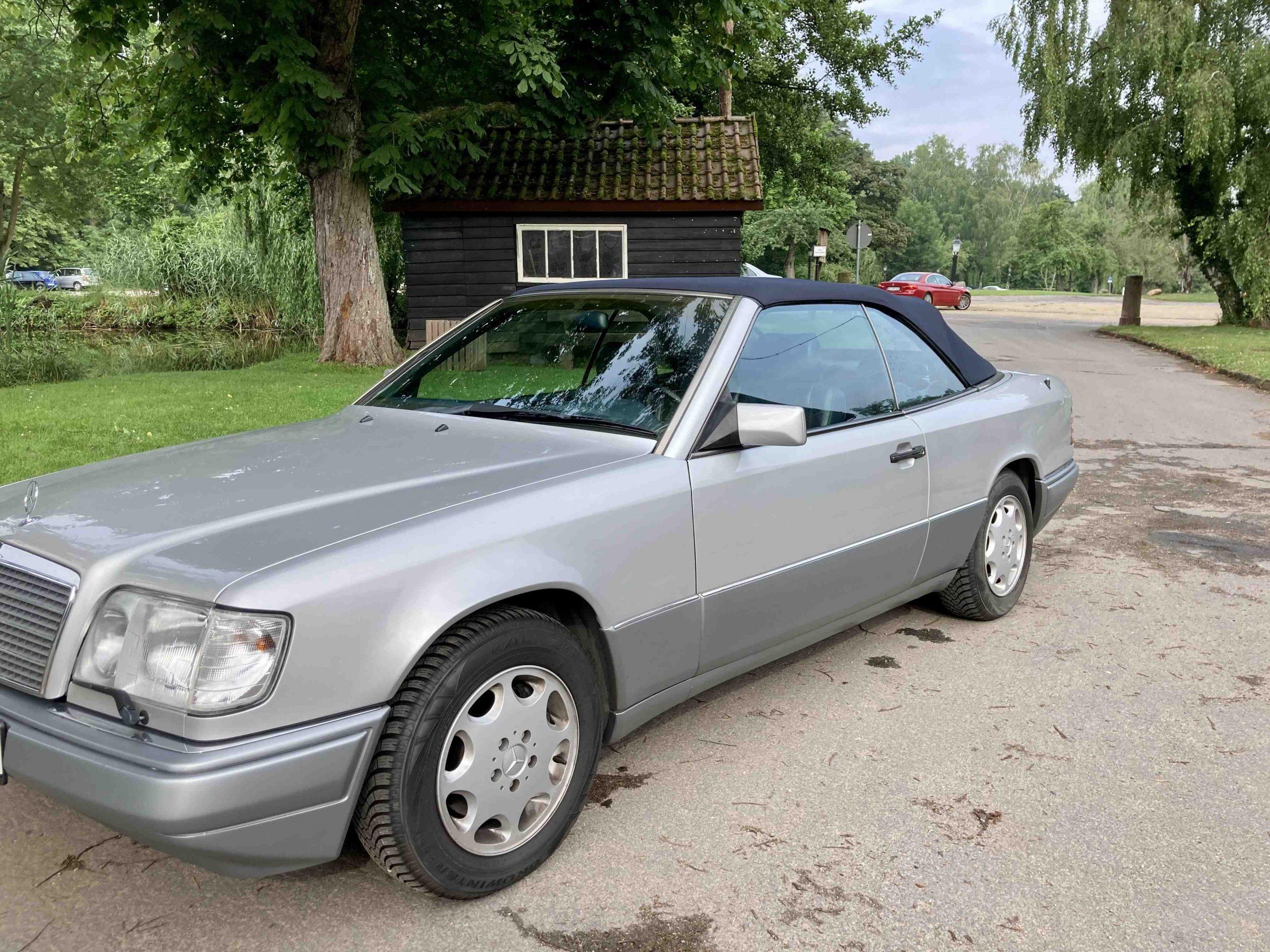1994 Mercedes Benz E320 Cabrio ex Frankfurt - € 19.320.-