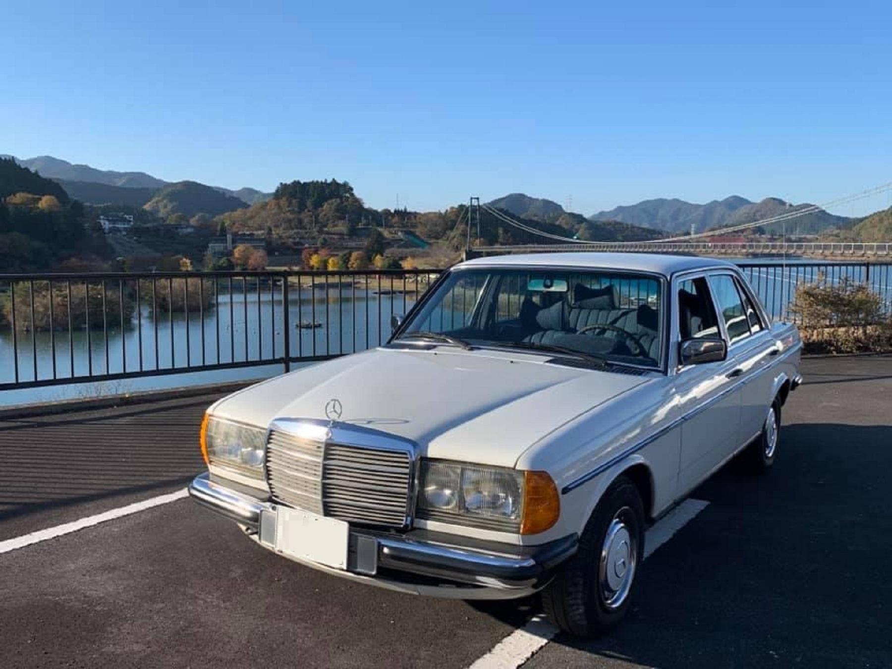 1978 Mercedes 280 E ex Rotterdam € 19.280.-