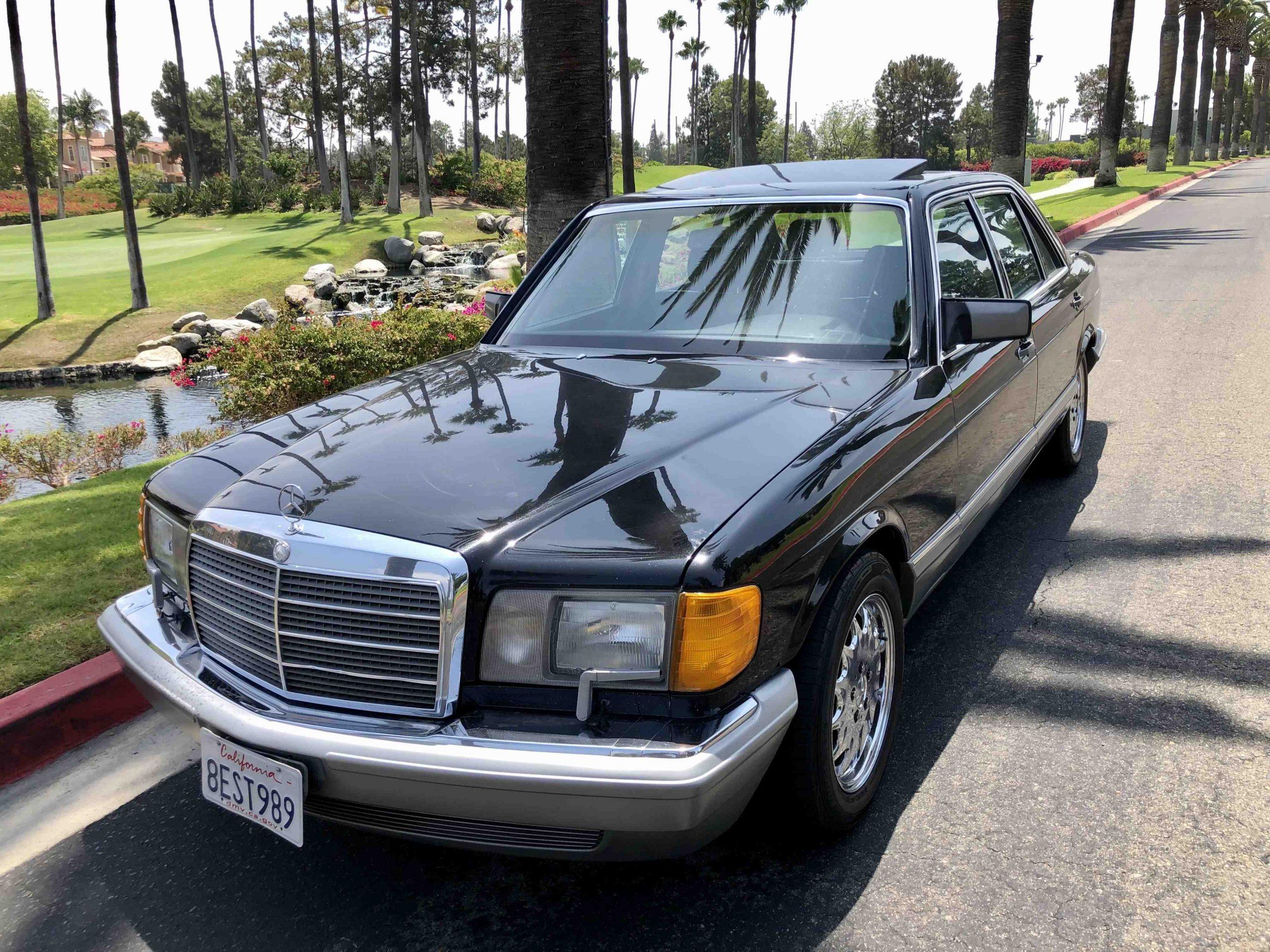 1988 Mercedes Benz 560 SEL  ex Rotterdam € 9.560.-